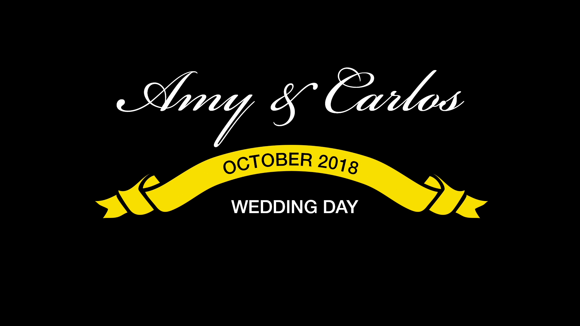 Amy & Carlos Wedding
